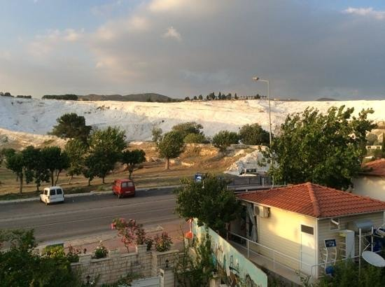 Alida Hotel Pamukkale : View from our balcony