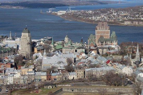 Observatoire de la Capitale: Vista de la ciudad vieja