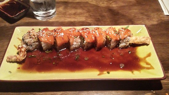 Side Street Sushi : Sweet Saki Roll