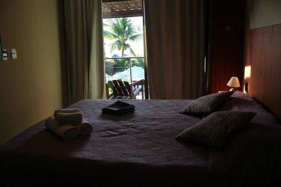 Le Terrace Beach Hotel: Quarto com varanda