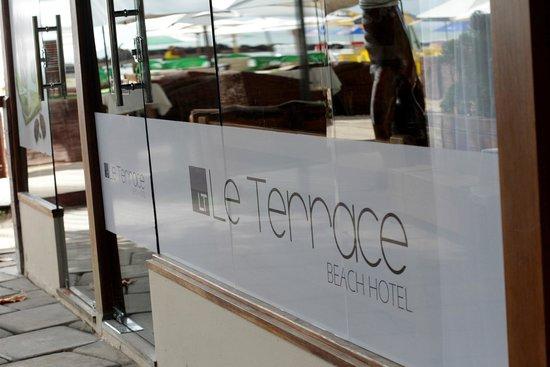 Le Terrace Beach Hotel: Recepção