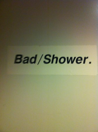 Hotel CopenHagen: I like this .. And yes the shower really is crap :-)