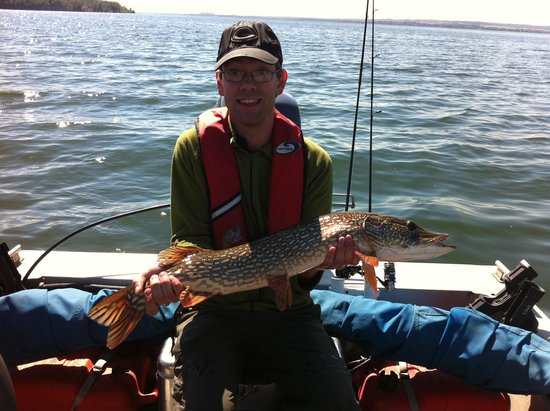 "Get Hooked Fishing Adventures Ltd - Tours: 34"" Northern Pike"