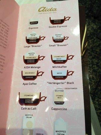 Cafe-Konditorei Aida: Café