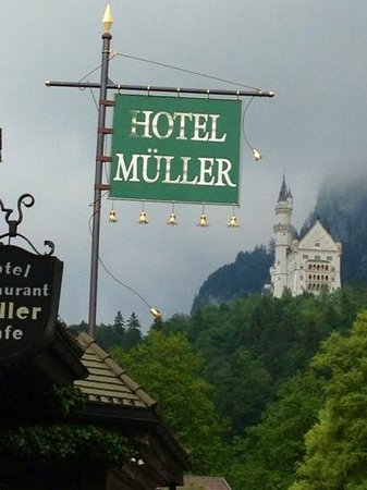 Hotel Mueller : perfect location
