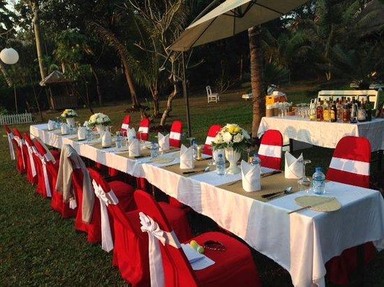 Le Bel Air Boutique Resort : Wedding Banquet Option