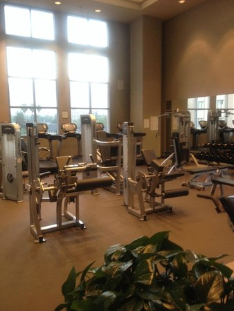 The Westin Pasadena: Workout Room Fourth Floor