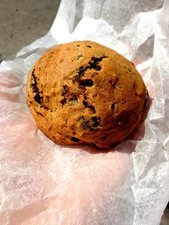 Rao's Coffee: The famous pumpkin cookie with chocolate chips and walnuts