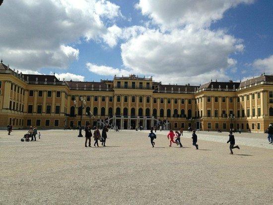 Schloss Schönbrunn: Frente