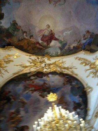 Schloss Schönbrunn: frescos de los techos