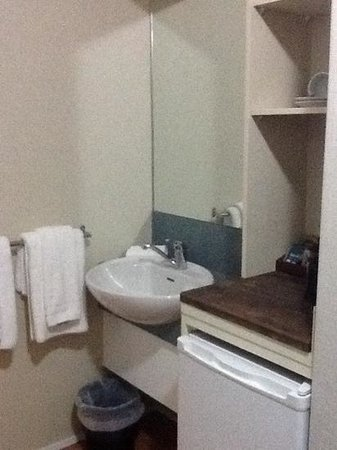 Travellers International Hotel : bathroom small but GREAT shower