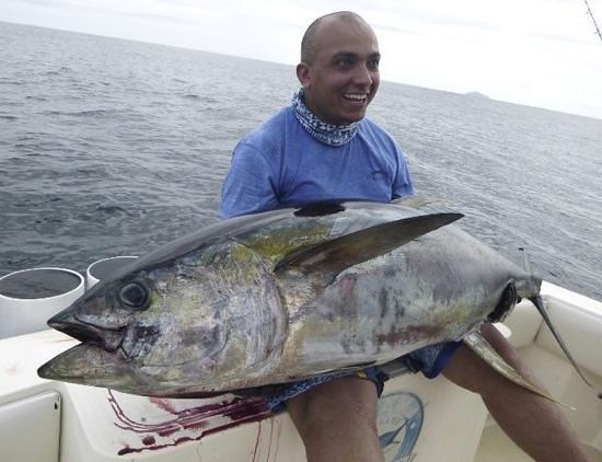 first day in panama big game fishing club