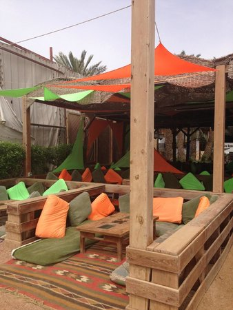 Acacia Dahab Hotel: chill out area