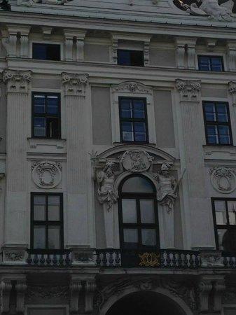 Hofburg: frente