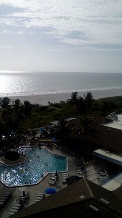 Hilton Marco Island Beach Resort--CLOSED FOR RENOVATIONS; REOPENING DEC. 1, 2017 : view  from 9th floor