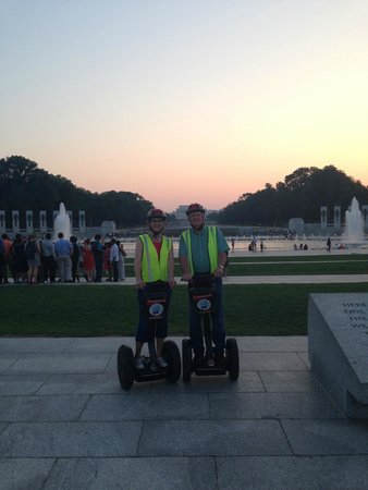 City Segway Tours DC : Thanks Matt for taking pictures for us.