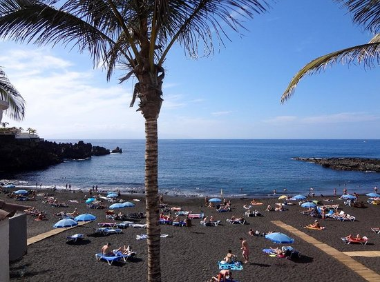 Playa de la Arena: Территория пляжа