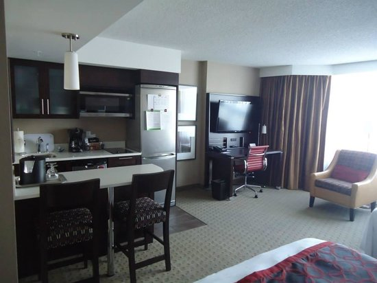 Residence Inn by Marriott Vancouver Downtown: Studio Apartment