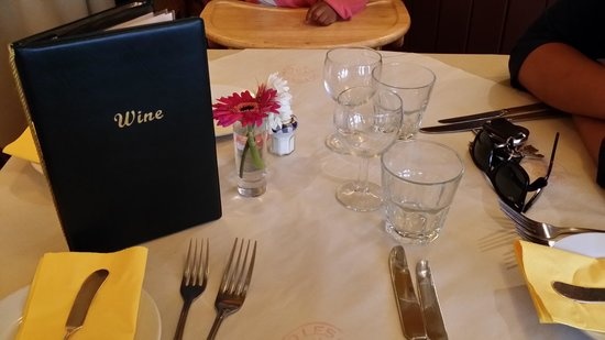 Bistro Les Chats: Table