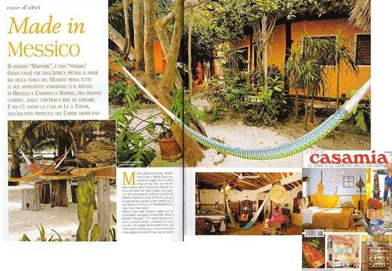 Holbox Hotel Mawimbi : casa mia