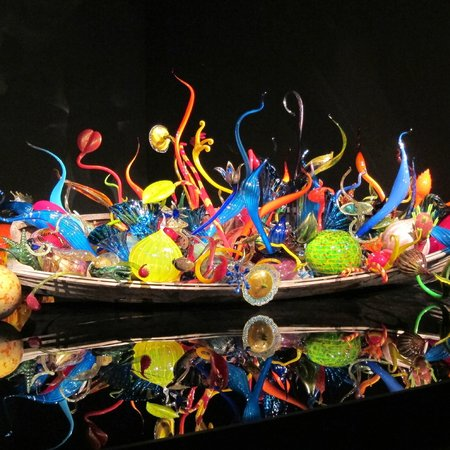 Chihuly Garden and Glass: Boat of Glass