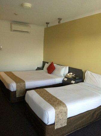 Aurora Alice Springs: ベッド