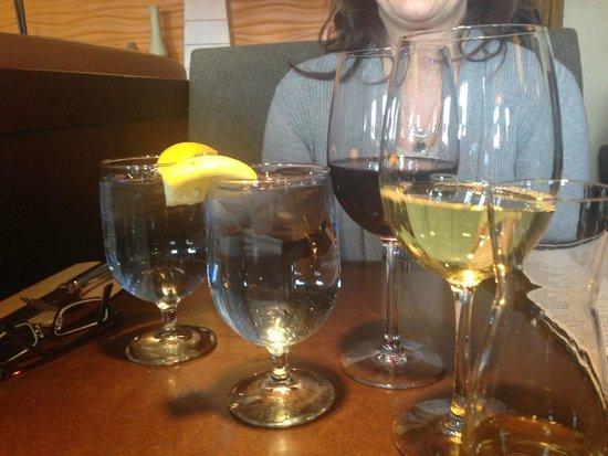 Red wine and Chardonnay..Joey Kenaston  |  1550 Kenaston Blvd, Winnipeg, Manitoba, Canada