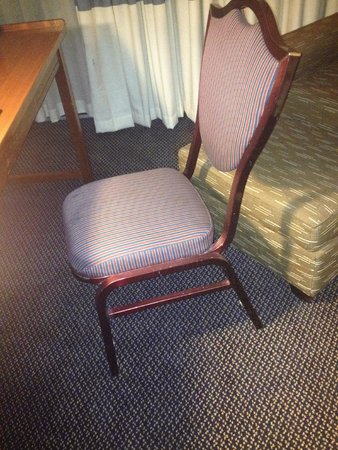 "Four Points by Sheraton Chicago O'Hare Airport: This is the ""desk"" chair in the room..."