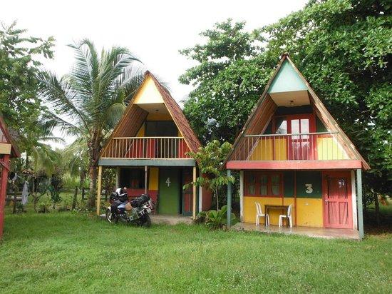 Playa Las Lajas, Panama: Cabañas