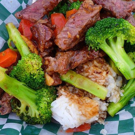 The Burger Shed : Thai beef broccoli