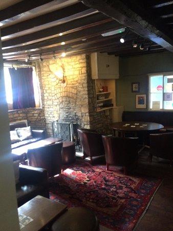 The Bull & Swan: The bar area