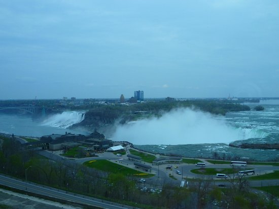 Niagara Falls Marriott on the Falls: View from Jr. Presidential Suite on 5th floor