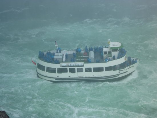 Maid of the Mist: You get wet, but it's part of the excitement !!