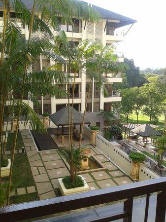 Pulai Springs Resort: View from Corridor