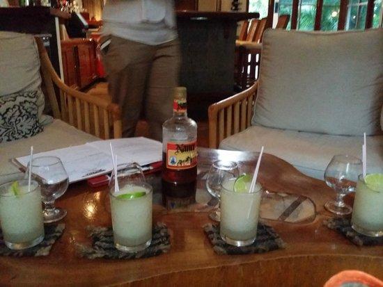 Ka'ana Resort: Welcome drinks
