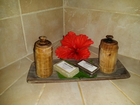 Ka'ana Resort : Details everywhere, even the bathroom