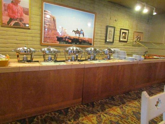 Kayenta Monument Valley Inn : breakfast area