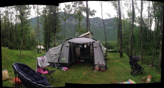 Kamp Rut d.o.o.: From our wooded retreat up on the shaded side of camp