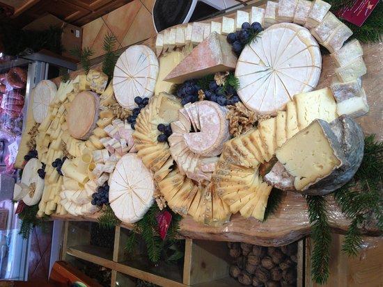 Les Pousse-Midi de Jérémie : plateau de fromages