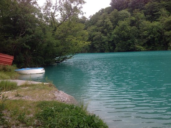 Kamp Rut d.o.o.: The nearby river Soca has to be seen to be believed!