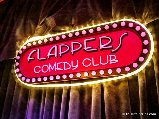 Flappers Comedy Club and Restaurant : Flappers Comedy Club www.Thislifeintrips.com