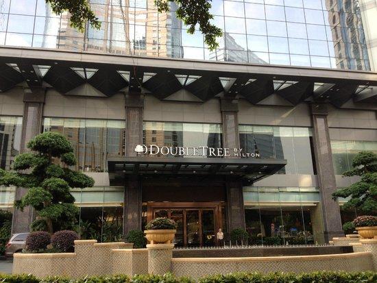 DoubleTree by Hilton Hotel Guangzhou : Entrance