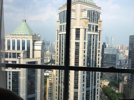 DoubleTree by Hilton Hotel Guangzhou : View from the window