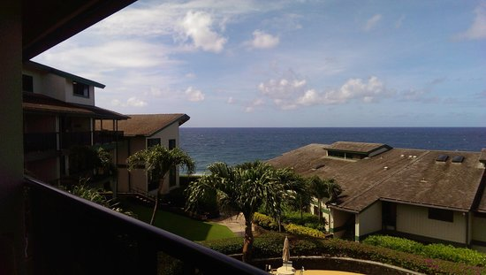 Castle Makahuena at Poipu: our view