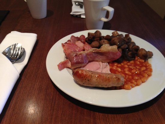 Heathrow/Windsor Marriott Hotel: Break Fast