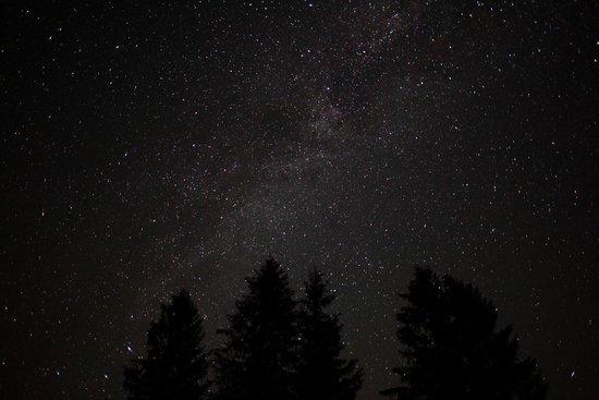 South Hazelton, Canada: No Light Pollution here