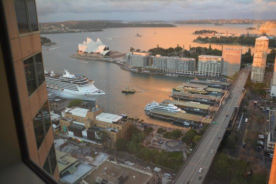 Shangri-La Hotel Sydney : view from the room