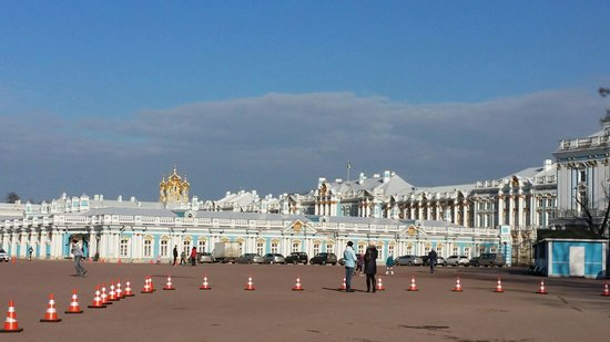 Catherine Palace and Park: Дворец