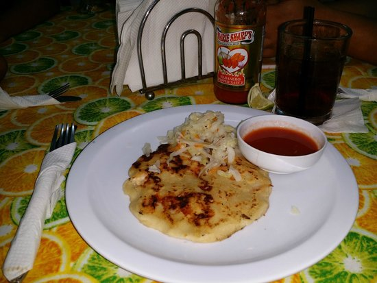 Waruguma: Reasonably priced pupusa