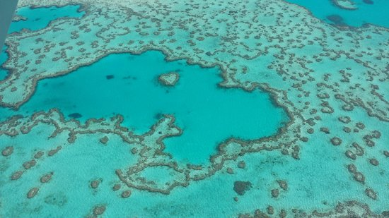 Whitehaven Beach: Коралловый атолл в виде сердца